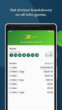 Oz Lotteries Results screenshot 2