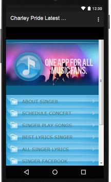 Charley Pride Songs & Lyrics, latest. screenshot 2