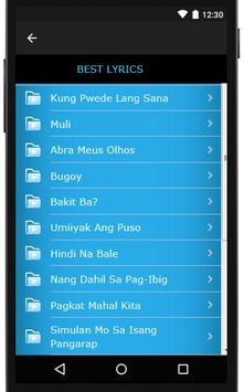 Bugoy Drilon Songs & Lyrics, latest. screenshot 3