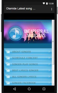 Olamide Songs & Lyrics, latest. screenshot 2