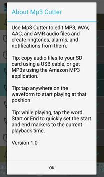 Mp3 Cutter and Ringtone Maker screenshot 1