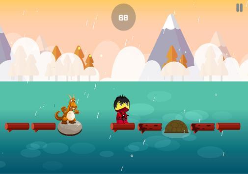 Blocky Go Lego Jumping Ninja apk screenshot