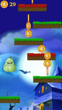 Jump Game Zombie of Plant Cartoon screenshot 1