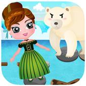 Jumper Frozen Blocky Games icon