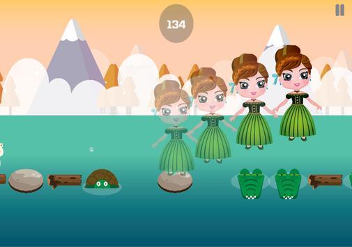 Jumper Frozen Blocky Games apk screenshot