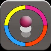 Color Jump Ball icon
