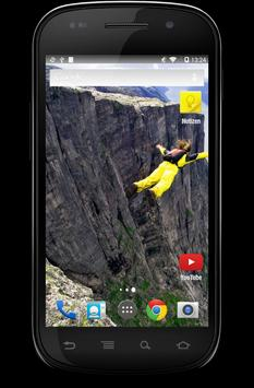 Base Jumping Wallpaper apk screenshot
