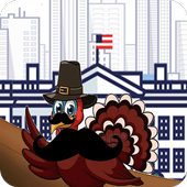 happy thanks giving game icon