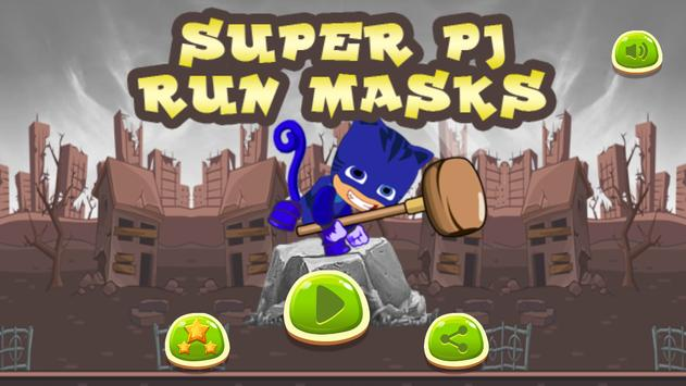 Super PJ Run Masks poster