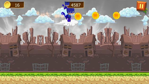Super PJ Run Masks apk screenshot