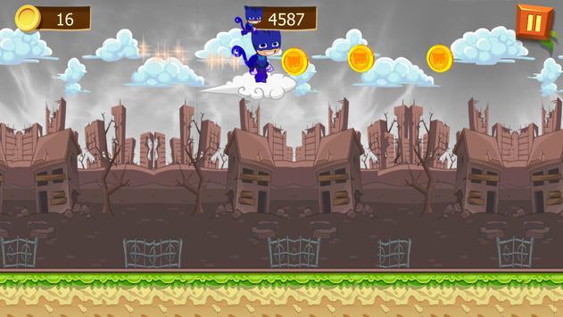 Super PJ Run Masks screenshot 4