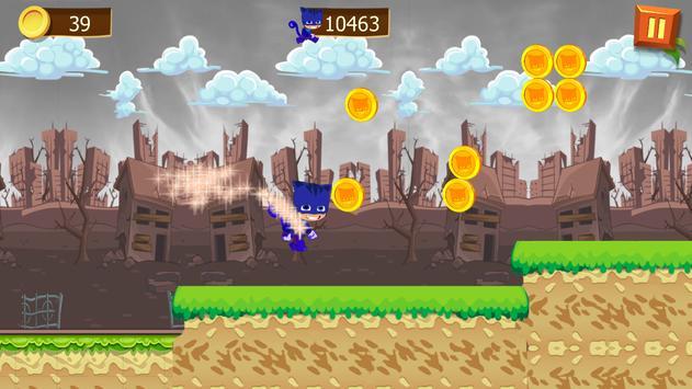 Super PJ Run Masks screenshot 5