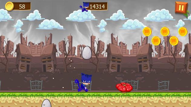 Super PJ Run Masks screenshot 6