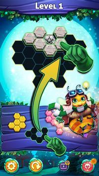Bubble Bee - Hexa Puzzle screenshot 3