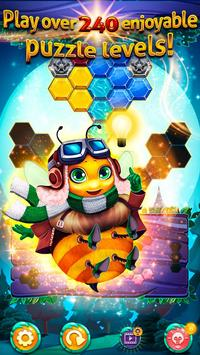 Bubble Bee - Hexa Puzzle screenshot 2