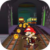Jump mario adventure world icon