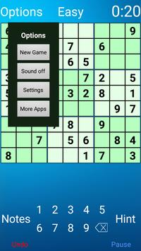 Sudoku for Android screenshot 1