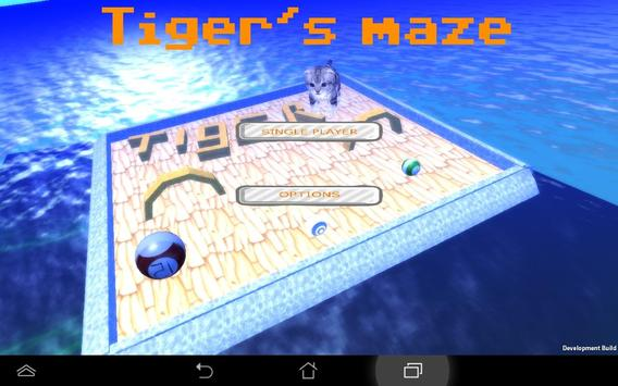 Tiger's Maze apk screenshot