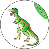 how to draw dinosaurus for kids icon