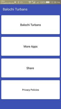 New Style Balochi Dastar (Turban) Photo editor poster