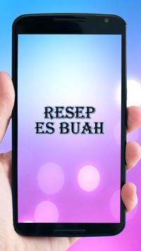 Resep Es Buah poster