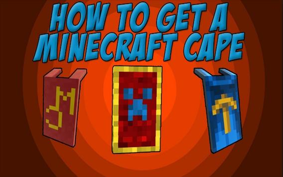 Best Custom Capes Mod For MCPE poster