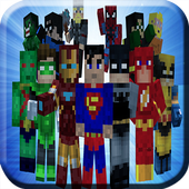 SuperHero Pack Mods for MCPE icon