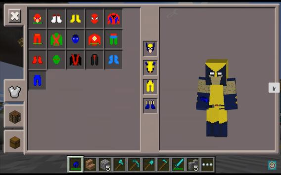 SuperHero Pack Mods for MCPE screenshot 3