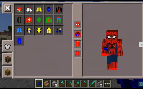 SuperHero Pack Mods for MCPE screenshot 1
