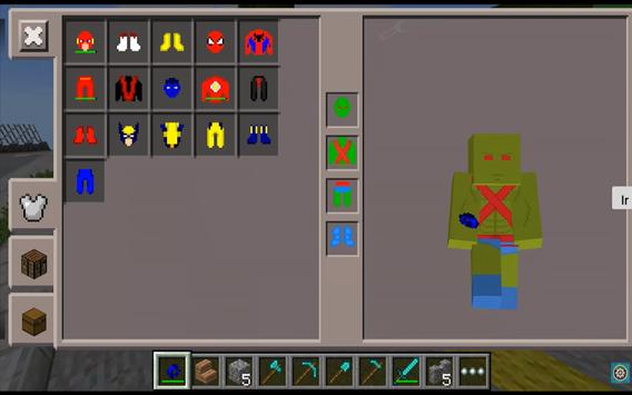 SuperHero Pack Mods for MCPE screenshot 2