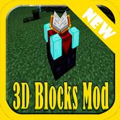 3D Blocks Addon for MCPE icon
