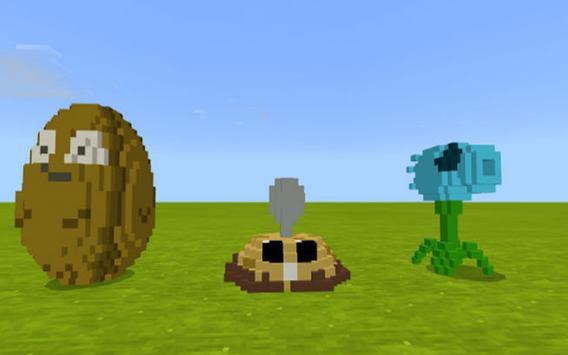 New Plantz vs. Mobz Mod for MCPE screenshot 1