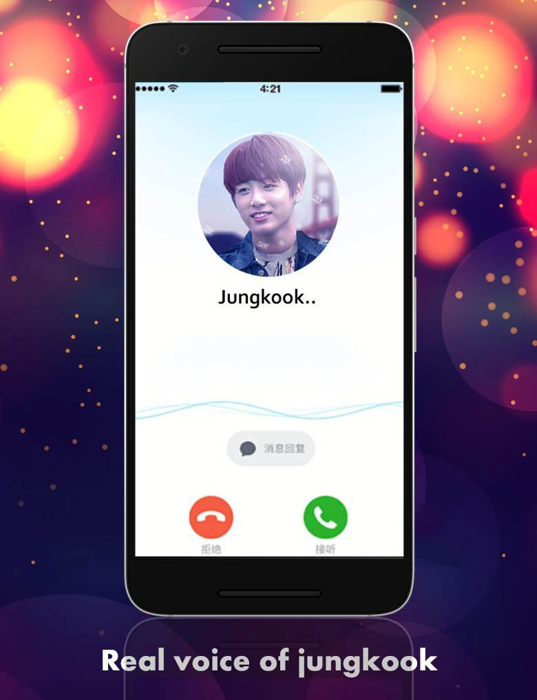 Jungkook BTS Fake calling - KPOP for Android - APK Download