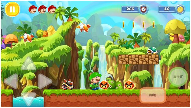 Jungle World Super Boy apk screenshot