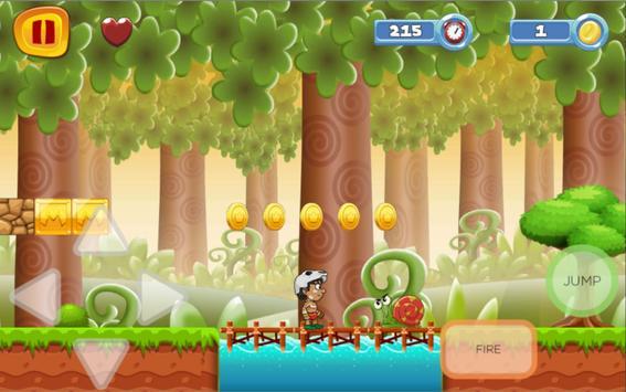 Jungle Adventure for Mario poster
