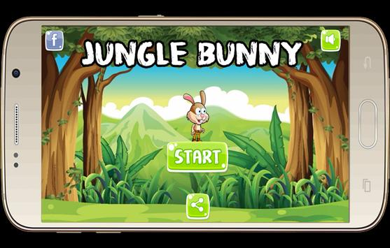 jungle bunny adventures jump poster