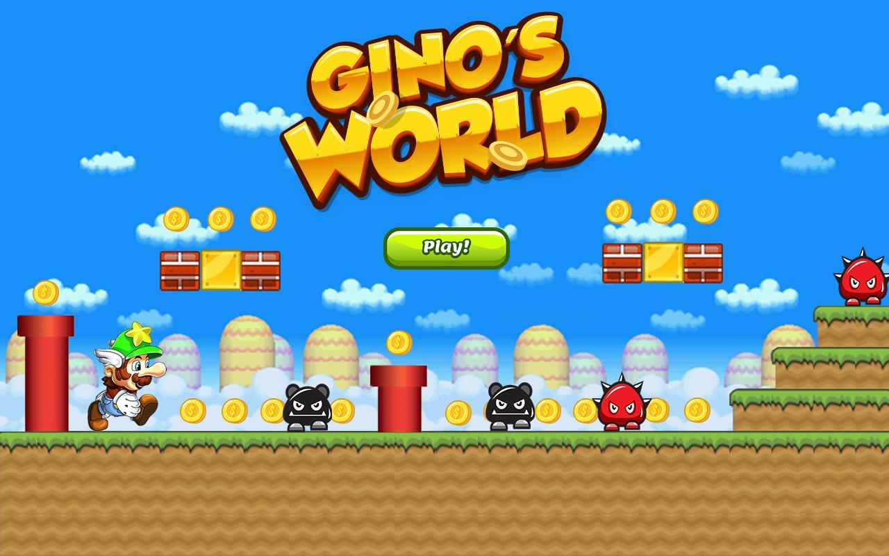 Gino S World Poster
