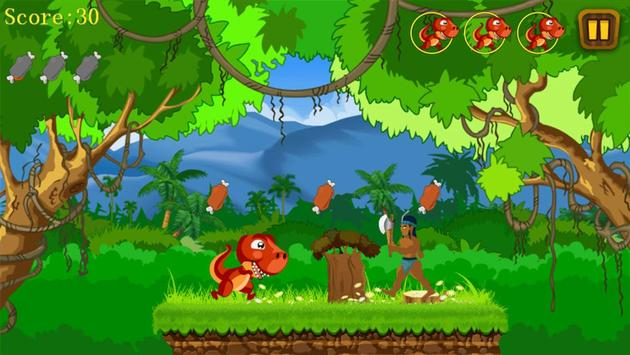 Jungle Dino Run screenshot 3