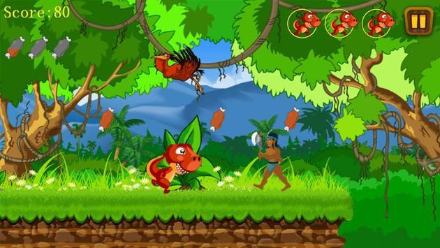 Jungle Dino Run screenshot 4