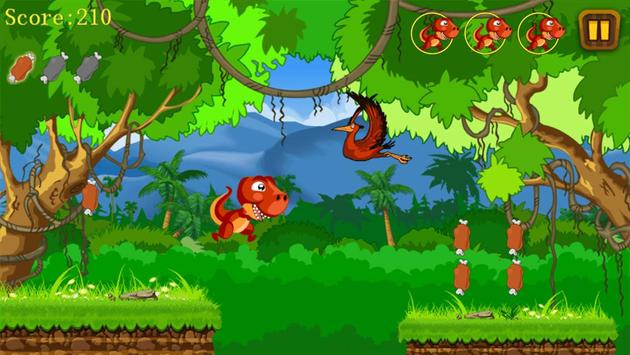 Jungle Dino Run apk screenshot