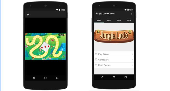 Jungle Ludo Queen apk screenshot