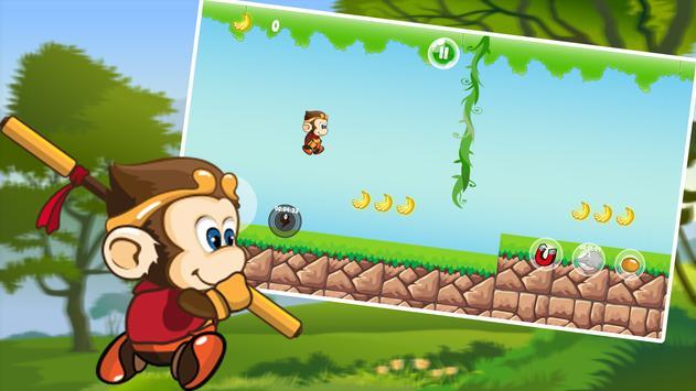 Jungle Monkey Banana apk screenshot
