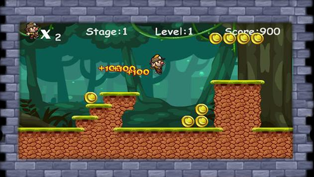 Jungle Monkey World Run apk screenshot