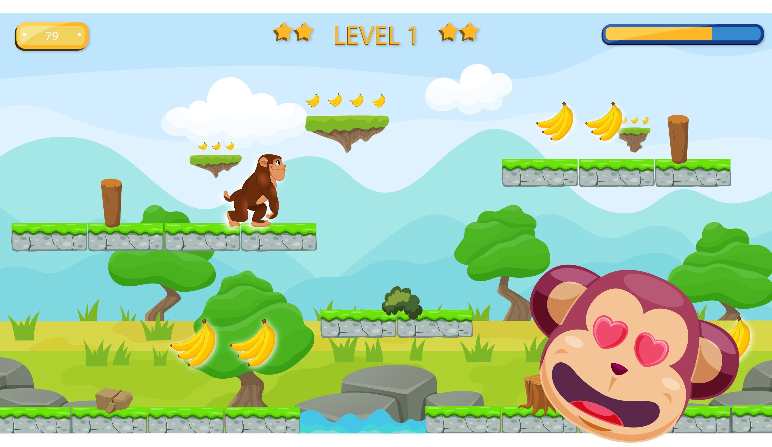Jungle Monkey 3 poster