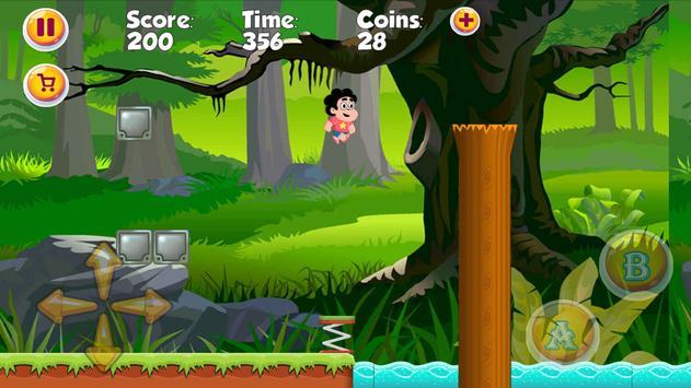Steven Jungle In Universe Game apk screenshot