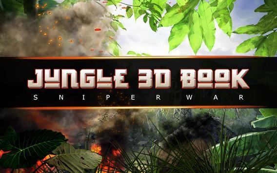 Jungle 3D Book : Sniper War poster