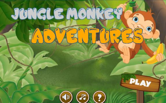 Jungle monkey adventures apk screenshot