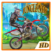 Motorcycle racing game icon