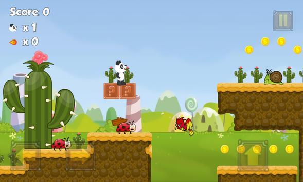 Panda Jungle Run poster