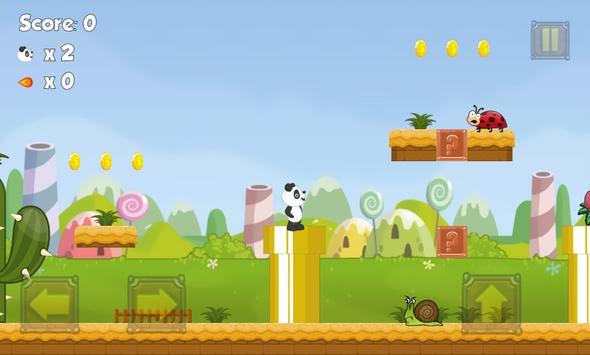 Panda Jungle Run apk screenshot